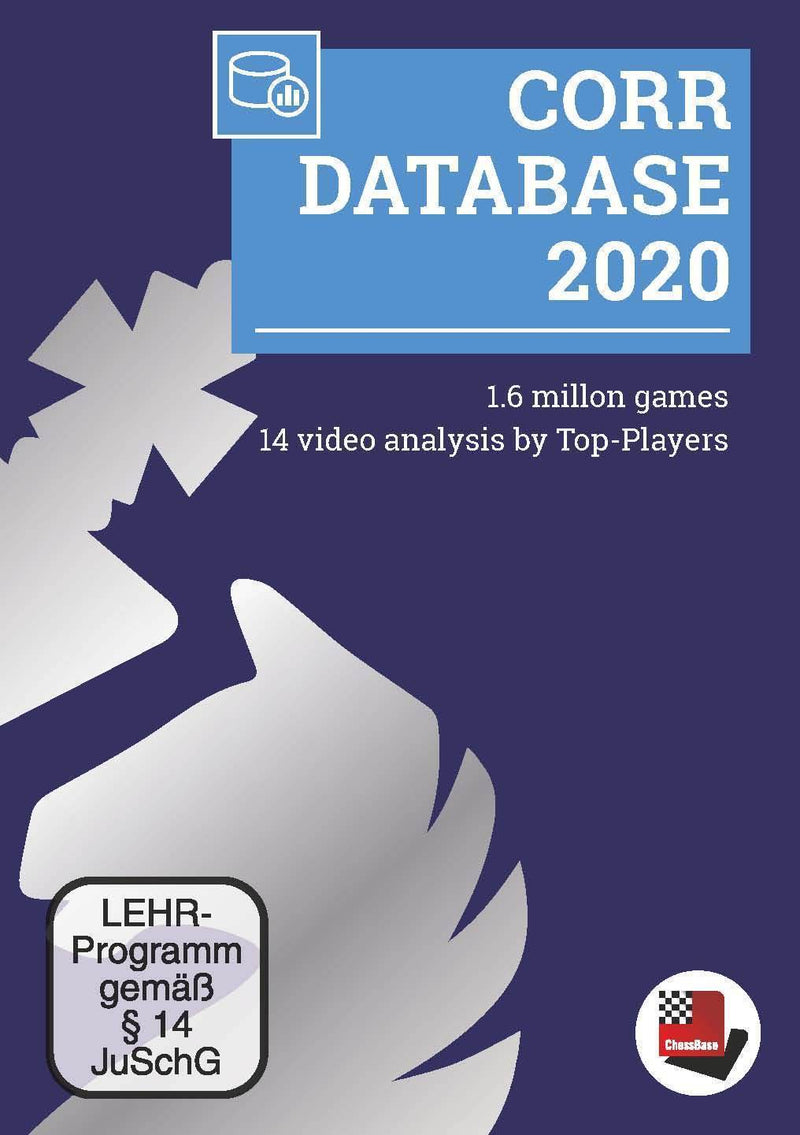 ChessBase Corr Database 2020 (DIGITAL DOWNLOAD)