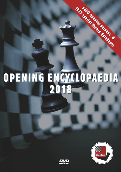 ChessBase Opening Encyclopedia 2018 - Software DVD - Chess-House