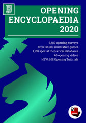 ChessBase Opening Encyclopedia 2020 - Software DVD - Chess-House