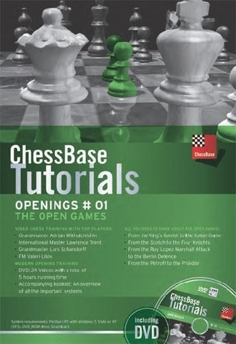 ChessBase Tutorials Openings 1: The Open Game (DVD) - Chess CDs and DVDs