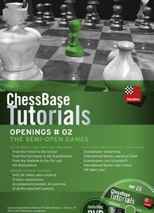 ChessBase Tutorials Openings 2: The Semi-Open Games