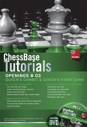 ChessBase Tutorials Openings 3: Queens Gambit and Queens Pawn Game (DVD) - Chess CDs and DVDs
