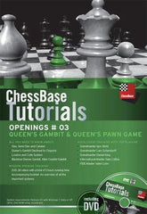 ChessBase Tutorials Openings 3: Queens Gambit & Queens Pawn Game (DVD) - Software DVD - Chess-House