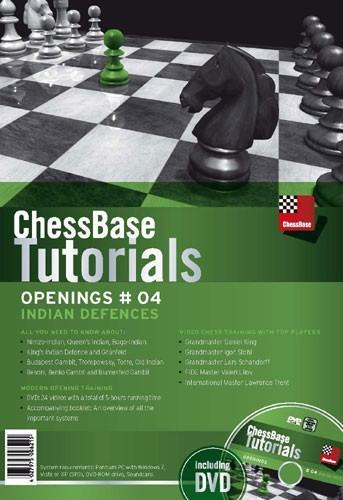 ChessBase Tutorials Openings 4: Indian Openings - Software DVD - Chess-House