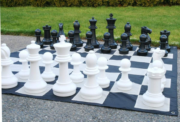 "ChessHouse 16"" Giant Chess Combo - With Chess Mat"