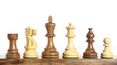 "Classic 3.75"" Chess Pieces In Acacia Piece"