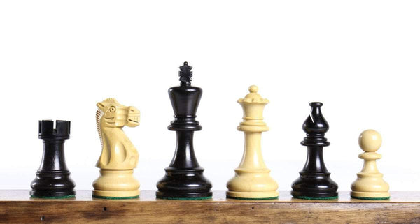 "Classic 3.75"" Ebonized Chess Pieces Piece"