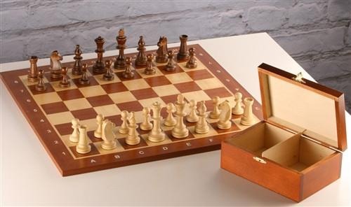 Classic Chess Set and Box Combo