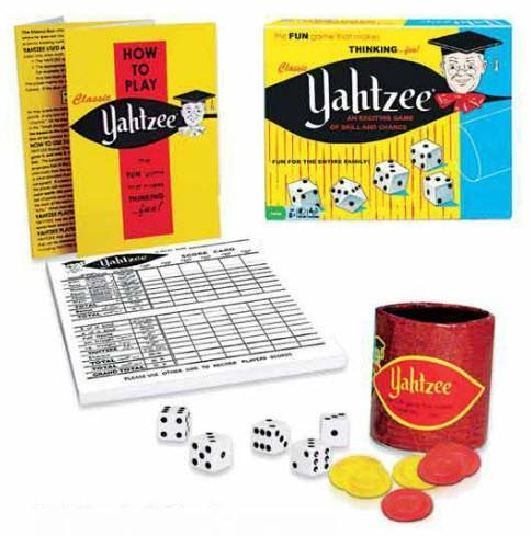 Classic Yahtzee - Other Board Games