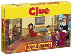 Clue Board Game - Bob's Burgers Edition Game