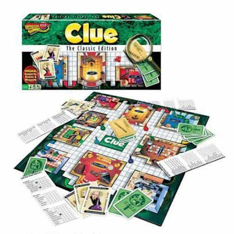 Clue Classic Edition - Game - Chess-House