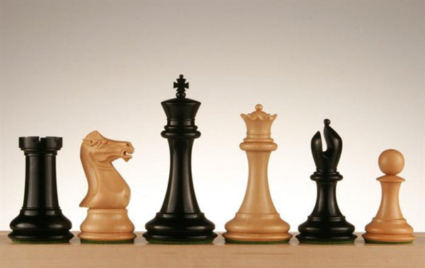 "Collector 4"" Ebony and Boxwood Pieces - Piece - Chess-House"