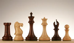 "Collector 4"" Rosewood and Boxwood Pieces - Piece - Chess-House"