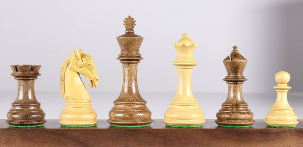 "Colombian 3.75"" Chess Pieces in Acacia Piece"