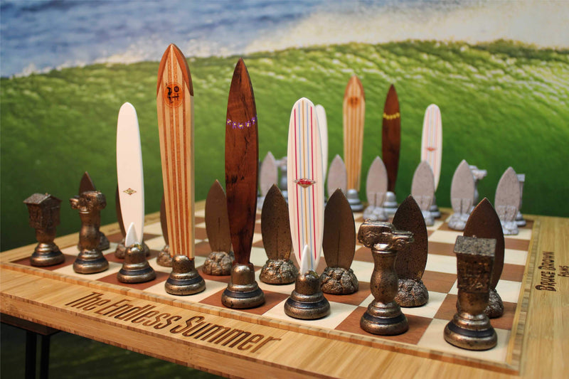 Dave Reynolds Special Edition Endless Summer Chess Set