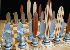 Dave Reynolds Surf Chess Set - Chess Set - Chess-House