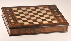 "DEAL ITEM: 17 3/4"" Artistic Cabinet Chess Storage Board Garage Sale"