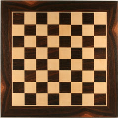 "DEAL ITEM: 19"" Wood Chessboard - Black Stained - Garage Sale - Chess-House"