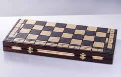 "DEAL ITEM: GALANT - 22.5"" Wooden Chess Set Garage Sale"