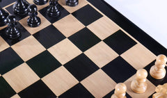 "DEAL ITEM: Staunton Ebony Chess Set - 19"" (BOARD ONLY) Garage Sale"