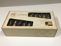 DEAL ITEM: The Crusades Chess Set with Presentation Box - SAC Hand Decorated - Chess Set - Chess-House