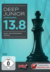 Deep Junior Yokohama 13.8: 64 Bit Multiprocessor Version - Software DVD - Chess-House