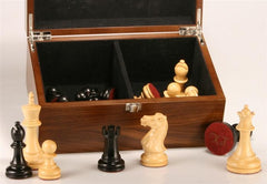 Chess Pieces with Box