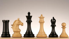 "Derby Knight Chess Pieces 4"" Ebony - Piece - Chess-House"