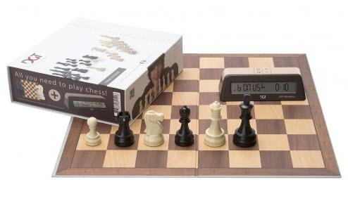 DGT Chess Gift Box - all you need to learn and play plus timer Chess Set