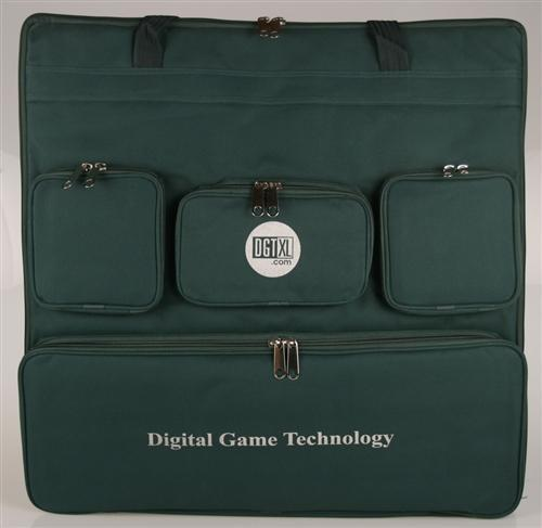DGT ChessBoard Custom Carrying Case - Green - Bag - Chess-House