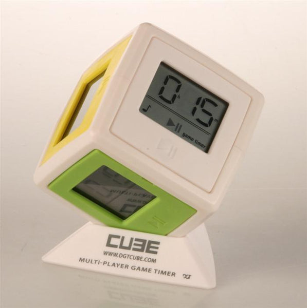 DGT Cube - The Game Clock for 2-6 players - Clock - Chess-House