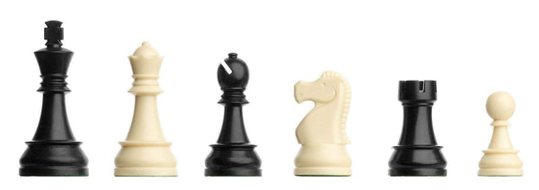 "DGT Plastic Chess Pieces 86mm (3 3/8"") Piece"