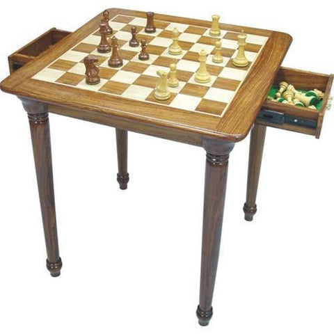 Double Drawer Chess Table - Table - Chess-House