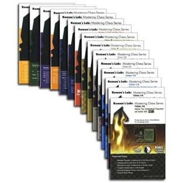 DVD Roman's Lab: Mastering Chess 28-DVD Series - Software - Chess-House
