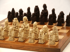 Egyptian Chess Pieces by Berkeley - Russet Brown - Piece - Chess-House