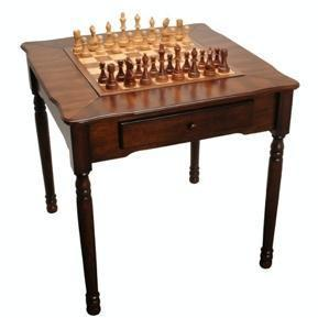 Elegant Chess, Checkers, and Backgammon Table - Table - Chess-House