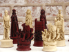 Elizabethan Chess Pieces by Berkeley - Cardinal Red - Piece - Chess-House