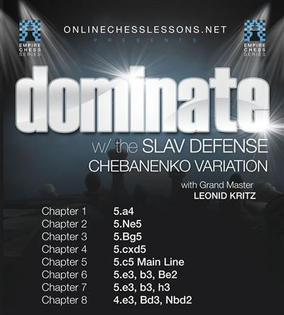 Empire Chess Vol. 1: Dominate With the Slav Defense, Chameleon Variation - GM Kritz - Movie DVD - Chess-House