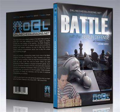 Empire Chess Vol. 10: Battle with the Berlin Defense - GM Kritz - Movie DVD - Chess-House