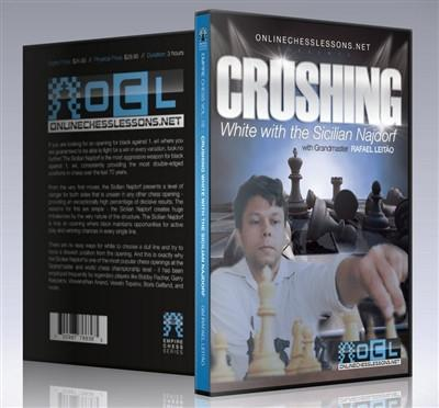 Empire Chess Vol. 16: Crushing White with the Sicilian Najdorf - GM Leit'o - Movie DVD - Chess-House