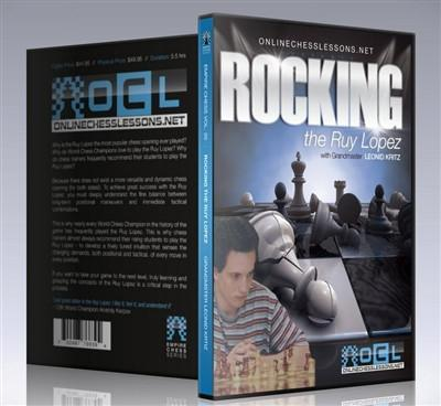 Empire Chess Vol. 20: Rocking the Ruy Lopez - GM Kritz - Chess CDs and DVDs