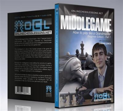 Empire Chess Vol. 25: Play the Middlegame like a Grandmaster: Part 1 - GM Lemos - Movie DVD - Chess-House