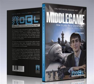 Empire Chess Vol. 26: Play the Middlegame like a Grandmaster: Part 2 - GM Lemos - Movie DVD - Chess-House