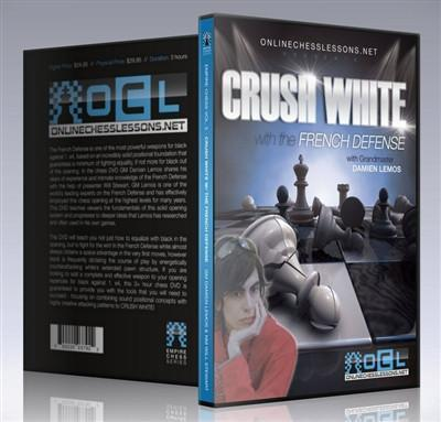 Empire Chess Vol. 3: Crushing White: The French Defense - GM Lemos - Movie DVD - Chess-House
