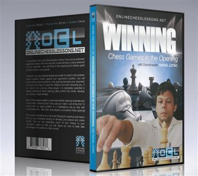 Empire Chess Vol. 34: Winning Chess Games in the Opening - GM Leit'o - Chess CDs and DVDs