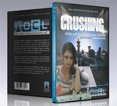 Empire Chess Vol. 36: Crushing White with the King's Indian Defense - FM Melekhina - Movie DVD - Chess-House