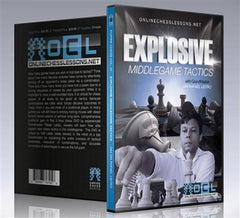 Empire Chess Vol. 37: Explosive Middlegame Tactics - GM Leit'o - Movie DVD - Chess-House