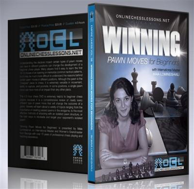 Empire Chess Vol. 38: Winning Pawn Moves for Beginners - IM Lomineishvili - Movie DVD - Chess-House