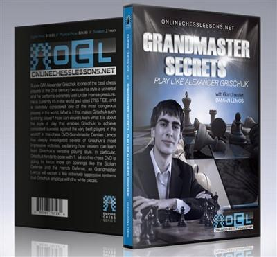 Empire Chess Vol. 42: Grandmaster Secrets: Play like Alexander Grischuk - GM Lemos - Movie DVD - Chess-House