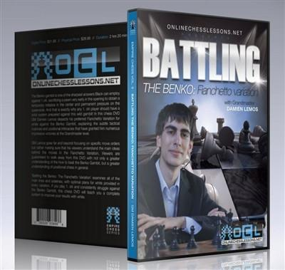 Empire Chess Vol. 9: Battling the Benko: The Fianchetto Variation - GM Lemos - Chess CDs and DVDs